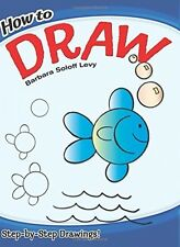 How To Draw, Children Activity Books Learning Arts Crafts Guides Toddlers NEW
