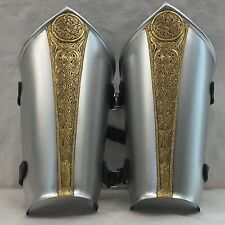 Larp Armour, armor, Sovereign Bracers, vambraces, arm, SCA, cosplay, theatrical