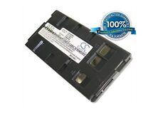 6.0V battery for Panasonic NV-S5A, NV-G202, PV-L757, XM-D1BK, NV-M810PX, PV-IQ30