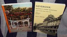 Pendora Park & Neversink Mt (2) Reading, PA History books LOWER Price SIGNED