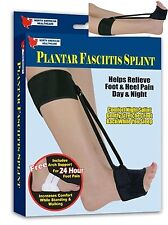 Plantar Fasciitis Splint Foot Heel Pain RELIEF day night brace Adjustable