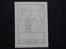 Architecture, French c.1925 Prison Arles s#27