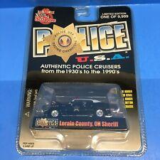Racing Champions Police USA 1970 Buick Lorain County OH Sheriff