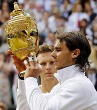 Rafael Nadal  10x 8 UNSIGNED photo - P371 - Wimbledon Champion