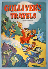 1939 Max Fleischer Gulliver's Travels Story Coloring Book Saalfield Uncolored