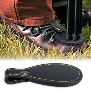 Outdoor Leather Toe Protector Shotgun Barrel Rest Pad Clay Target Shooting