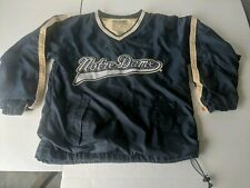 Vintage Notre Dame Steve And Barry's Pull Over Size XS Awesome Irish Fans!!!!!