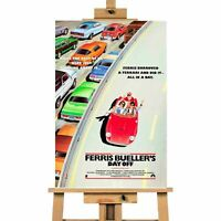 Ferris Bueller's Day Off Movie Canvas Print Wall Art