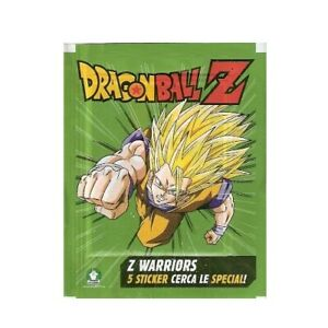 Dragon ball Z Warriors Moments Coll. Stock 40 Packs Stickers
