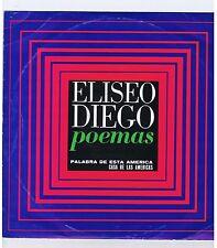 LP ELISIO DIEGO POEMAS (CASA DE LAS AMERICAS)