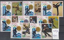 Belize 1980 Giochi olimpici invernali 487-94 MNH