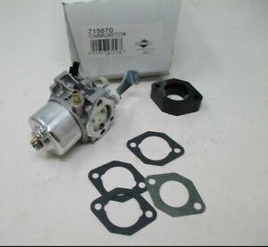 Genuine OEM Briggs and Stratton 715670 Carburetor 715442, 715312
