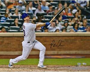 """Pete Alonso New York Mets Signed 16"""" x 20"""" MLB Rookie Record Home Run #53 Photo"""
