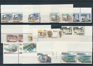 [G43894] Portugal Good lot pairs Very Fine MNH stamps