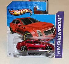 2013 Hot Wheels HW Showroom #152 Cadillac CTS-V Red New SC