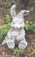 Latex rabbit mold plaster concrete casting garden mould