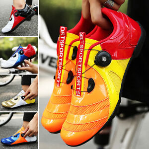 Unisex Professional Cycling Shoes Mens Women Bicycle Bike Road Outdoor Sneakers