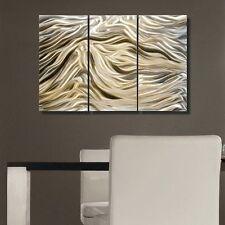 Abstract Gold Metal Wall Art Contemporary Home Decor - Divine by Jon Allen