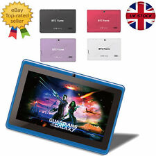 """GRADE A 7"""" TABLET FAST BTC® FLAME HD WIFI ANDROID DUAL CAMERA HDMI BLUETOOTH 8GB"""