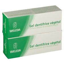 Gel Dentifrice Végétal Réduit la Sensibilité Gingivale WELEDA 75ml (lot 2) /EBUG