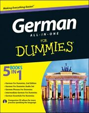 German All-in-One For Dummies with CD by Wendy Foster 9781118491409 | Brand New