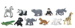 Safari ltd 760604 Zoobabies (11 Mini Figures)