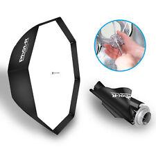 "PhotR 80cm/32"" Octagon Umbrella Softbox Reflector Speedlite Bowens Flash S Type"