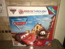 Breakthrough Level Two Disney Pixar Cars Real 3D Puzzle NEW
