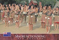 Ansichtskarte: Maori Action Song, Neuseeland