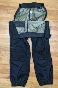 Marmot Red Black Gore-Tex Full Zip Waterproof Rain Snow Pants Mens XL (38)