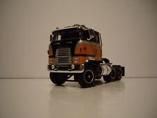 DCP FIRST GEAR 1/64 BLACK AND ORANGE INTERNATIONAL TRANSTAR COE