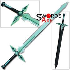 Dark Repulser v2 Sword Art Online Replica Kirito Aqua Repulsor Steel Pale Green