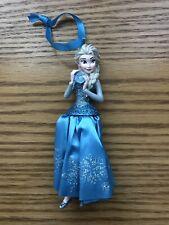 Disney Store 2014 Frozen Queen Elsa Christmas Ornament