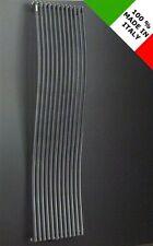 Termoarredo d'arredo radiatore design bianco termosifone in acciaio da soggiorno