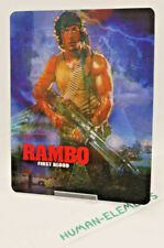 RAMBO First Blood - Lenticular 3D Flip Magnet Cover FOR bluray steelbook