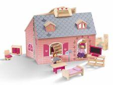 tragbares Puppenhaus Playtive Holz Bauernhof Sb199b