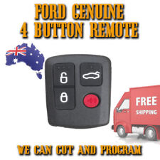 Ford Genuine 4 Button Remote Control - FREE POST - BAC15K601B - Easy To Program