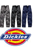 Dickies WD814 Redhawk Super Action Cargo Combat Work Wear Trousers Zip Pockets