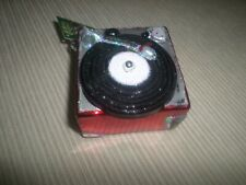 """Old World """"Record Player"""" Christmas Glass Ornament Nwt"""