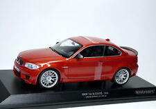 BMW 1er M Coupé Coupé e82 2011 Valence Orange Met. Minichamps 110020020 1:18