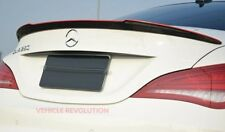 Mercedes Benz W117 Cla45 Fd Style Dry Carbon Fiber Red Line Rear WIng Spoiler 14