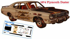 """CD_CC-074 """"Golden Duster"""" 1974 Plymouth Duster   1:18 Scale DECALS"""