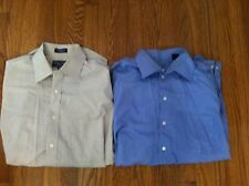 2 Meeting Street Collection / Unlisted men's dress shirts lot 16 1/2 32/33 34/35