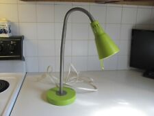 Ikea Lime Green Kvart Goose Neck Desk Lamp - Discontinued