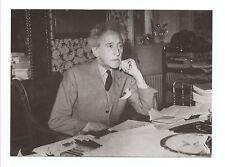 Jean Cocteau dans son bureau vers 1960 Tirage argentique postérieur ca 1990