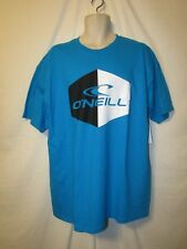 mens O'Neill surfer t-shirt M nwt oiler  turquoise