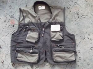 Podium gray River Pocket  Fishing Vest L/XL