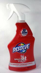 Resolve Carpet Spot Plus Stain Remover Liquid Cleaner (22 fl oz Spray Bottle)