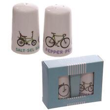 Paseos en bicicleta bici blanco retro Salt & Pepper Set-Nuevo-día de las Madres