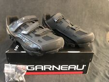New Men's 13.5 - Louis Garneau Gravel MTB Bike Shoes Black